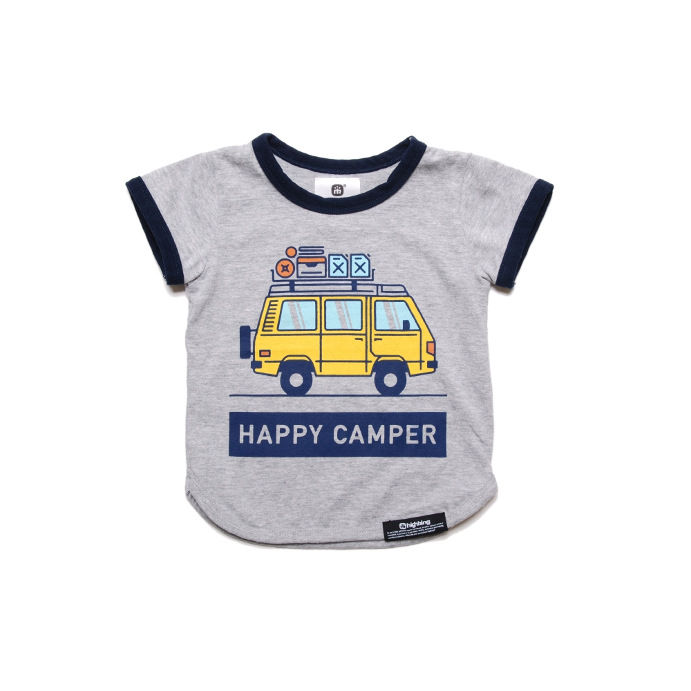 happy camper short sleeve